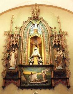Retablo Virgen del Mar