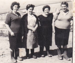 Mujeres del matadero