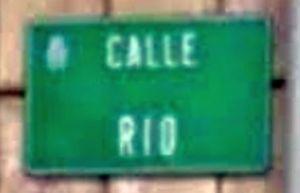 Calle Río en Candás