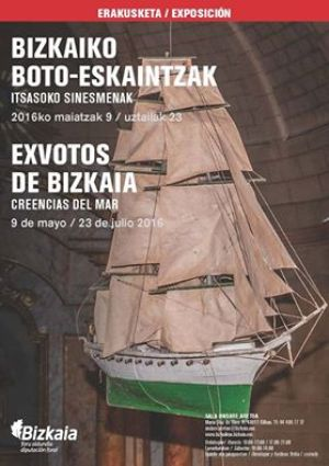 Cartel expo exvotos