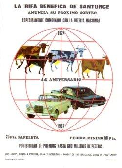 Cartel rifa 1967