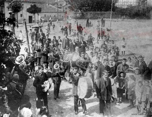 Banda de música 1915