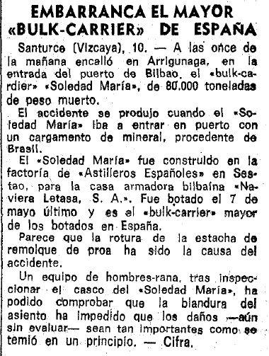 1972 Soledad María (texto)