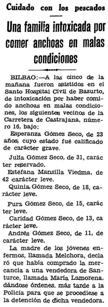 Maria Lamorena 5 de agosto de 1933