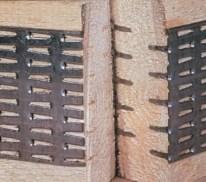 MiTek technologija - dygiuotosios plokštelės