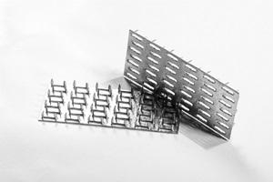 Santvarinės stogo konstrukcijos - MiTek dygiuotosios plokštelės