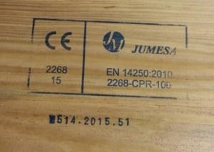 Inovatyvi statyba Statybos medienos zenklinimas CE