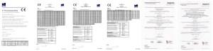 Inovatyvi statyba, Medinių santvaru sertifikatai