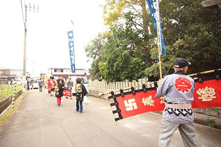 中津八幡神社【丸亀市】 秋祭り