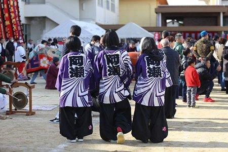 阿瀬獅子組 [ 筆岡公民館まつり(2018/12/09) ]