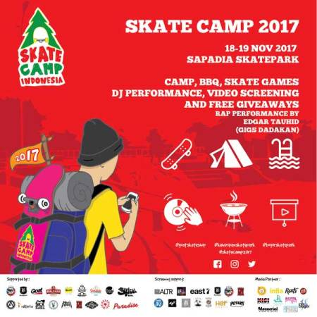 Skate Camp Indonesia 2017