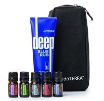 doTerra Athletes-kit - etherische olie en zalf voor sporters, oa tegen spierpijn
