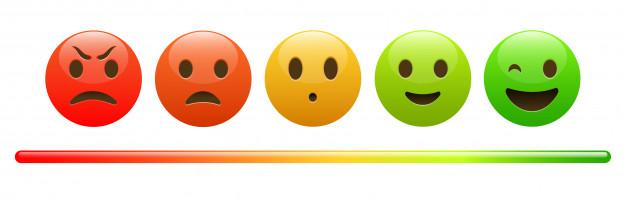 stemmingsmeter-van-rood-boos-gezicht-tot-vrolijke-groene-emoji