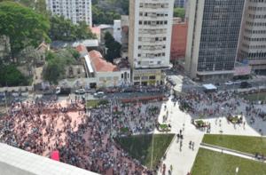 Praça Roosevelt em dia de evento