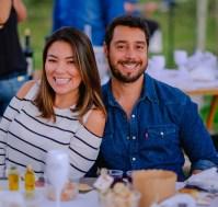 Lizie Taguchi e Rodrigo Maciel