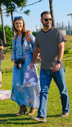 Tuani Vieira com Diogo Storino