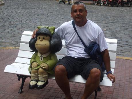 Personagem Mafalda - Argentina/2010
