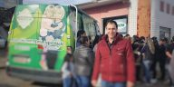 Daniel dausina Paiquerê trabalhou para garantir a vacinação a comunidade de São Joauqim durante o final de semana