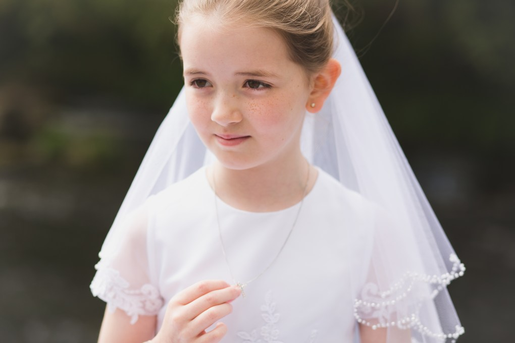 first holy communion, candid portrait, communion day, kildare communion photographer
