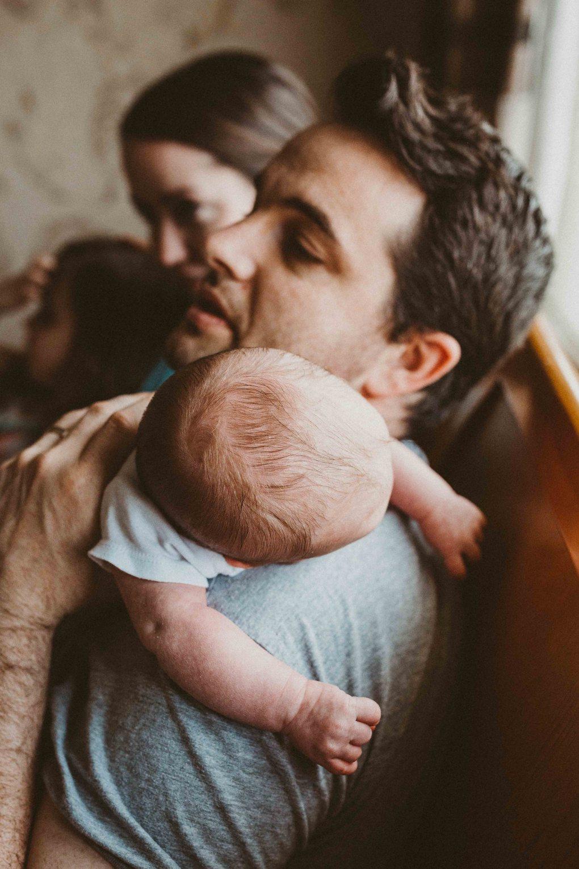 dad, baby, newborn