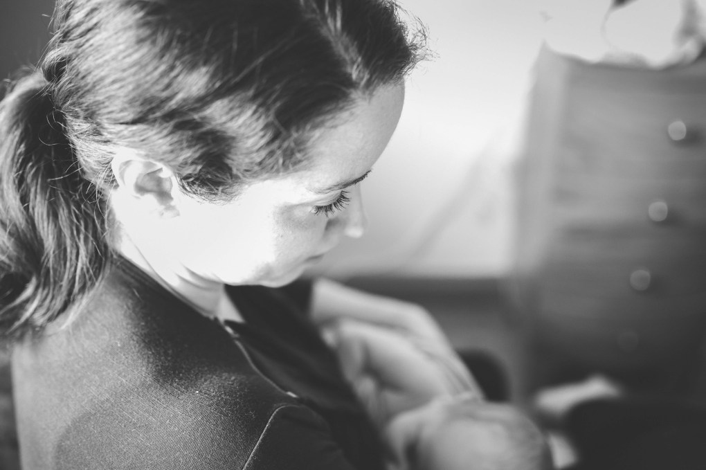 portrait, mother, breastfeeding, lactation
