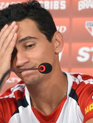 Ganso perdeu a vaga de titular no São Paulo (Foto: Alexandre Moreira / Ag. Estado)