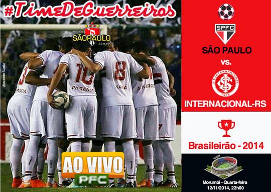 São Paulo x Internacional
