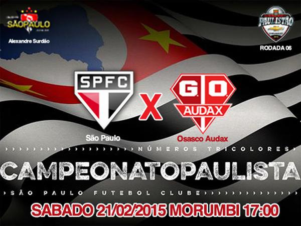 São Paulo x Audax