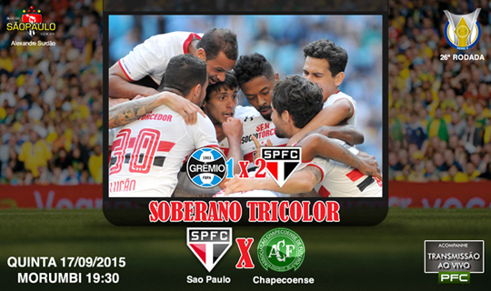SPFC x Chapecoense