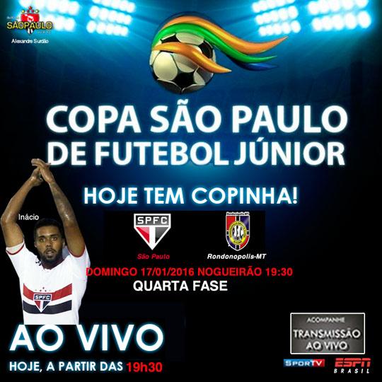 São Paulo x Rondonópolis