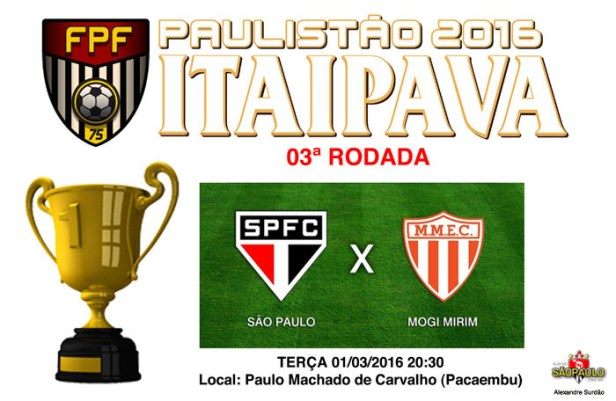 São Paulo x Mogi Mirim