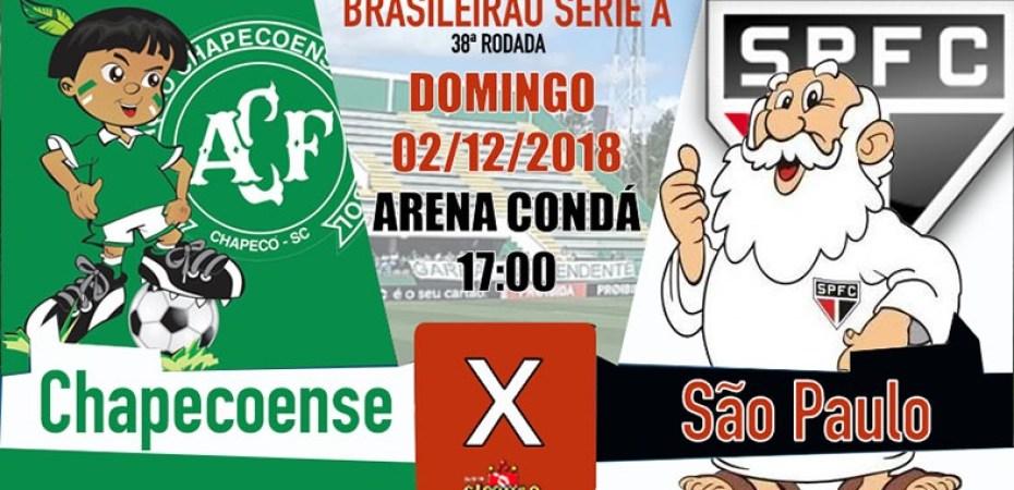 Preleção Brasileirão 2018  Chapecoense x SPFC – SãoPaulo.Blog 9a5dc11af5ce8