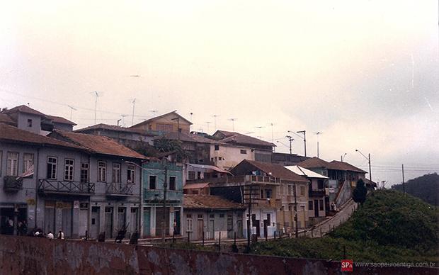 Vista parcial da cidade em 1984 (clique para ampliar).