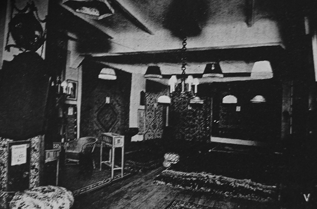 Luminárias e tapetes (clique para ampliar).