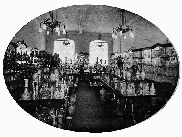 Vasos, porcelanas e cristais (clique para ampliar).