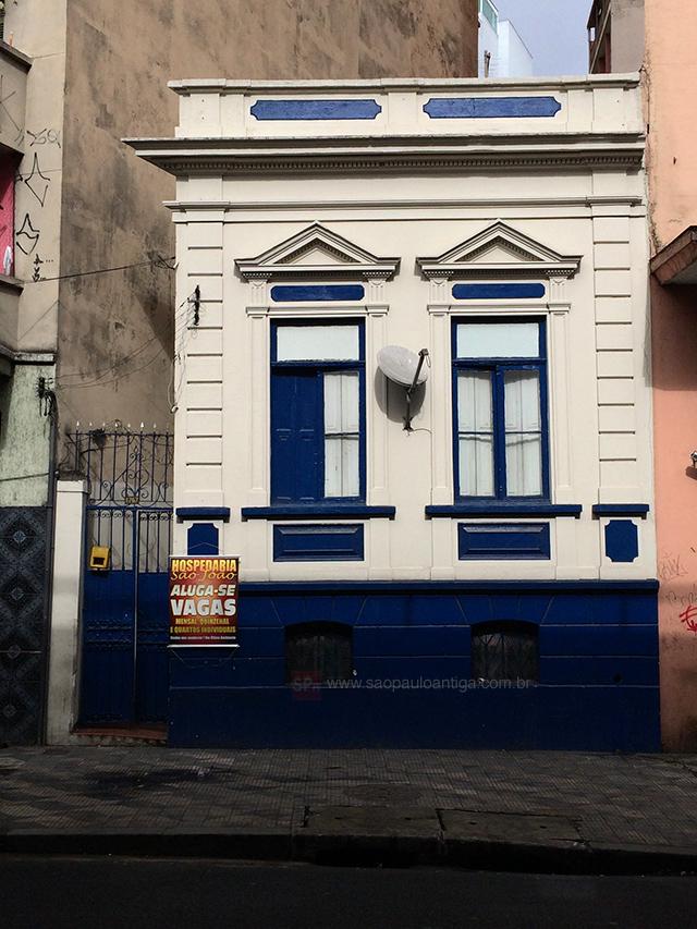 Na foto, a antiga residência da Família Ferrara