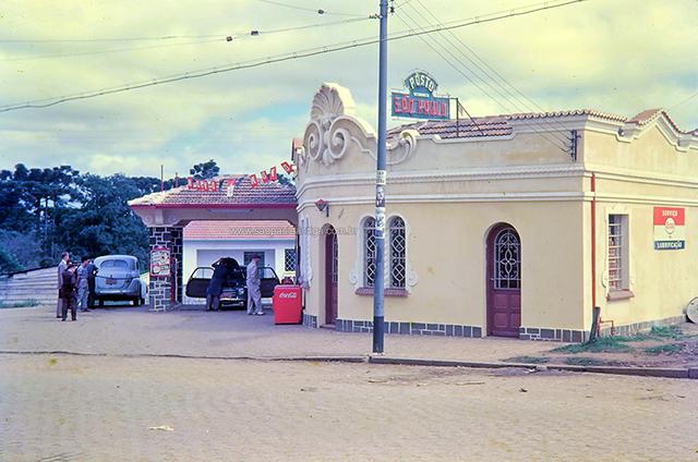 Posto São Paulo - posteriormente identificado como em Curitiba