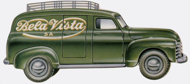 O furgão da Chevrolet era um dos carros mais usados pela Bela Vista (clique para ampliar)