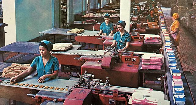 Fábrica da Bela Vista na década de 60 (clique para ampliar)