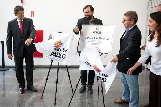Inauguração contou com a presença do Prefeito Fernando Haddad