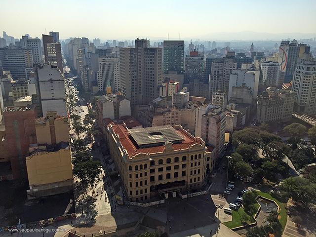 Vista da Avenida São João (clique para ampliar).