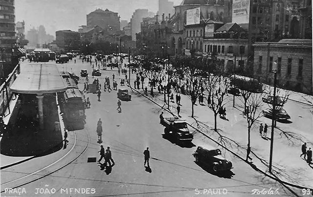 Praça João Mendes e arredores (clique na foto para ampliar)