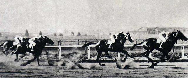Corrida no Hipódromo da Mooca, década de 1930