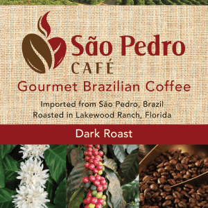Sao Pedro Dark Roast Ground Coffee