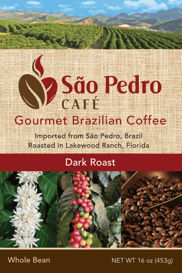 Sao Pedro Dark Roast Whole Bean