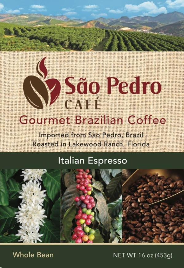 espresso,italian,coffee,brazilian,made in usa,locally roasted,artisan