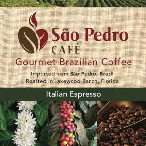 espresso,italian,coffee,brazilian,made in usa,locally roasted,artisan
