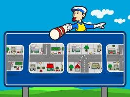 Cilj aplikacije je povecanje sigurnosti najmladjih u svakodnevnom saobracaju