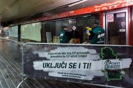 Cif čisti Srbiju podzemni prolaz Palata Albanija