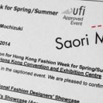 Hong Kong Fashion Week July 2014